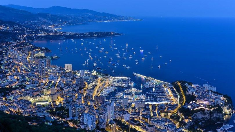 Blick über Monacco